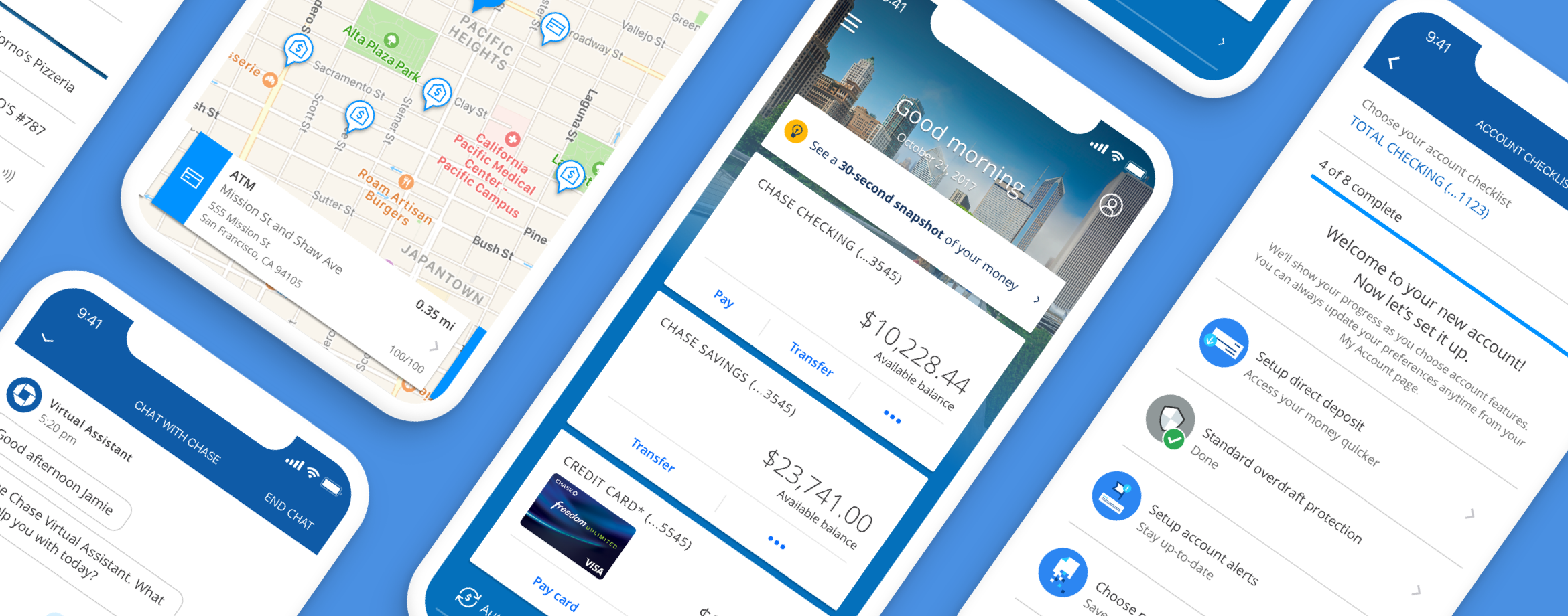 Other projects for Chase mobile